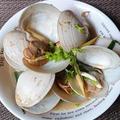 ホイホンビノス・ヌン・タクライ ホンビノス貝のレモングラス蒸し