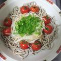 ◆うちごはん 「自家製サラダそば」 ◆