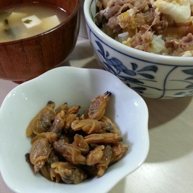 わが家の牛丼っ♪(CMっぽく)