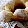 丁度よいサイズ感・・15センチのちぎりパン&にゃ♪