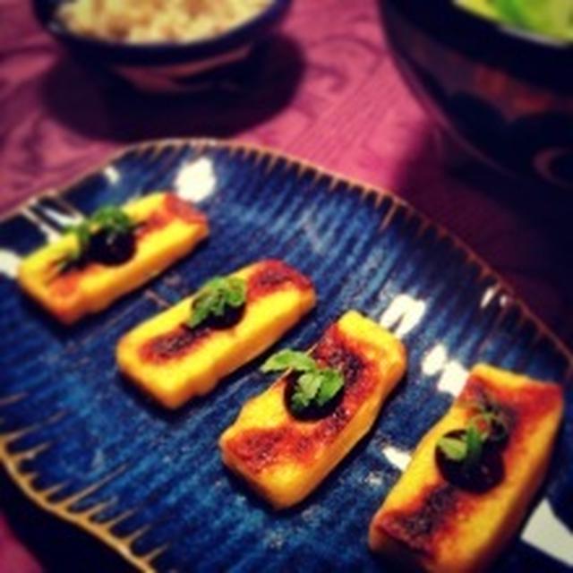粟麩の味噌焼き(レシピ)