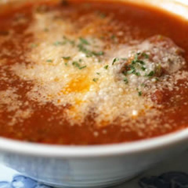 鶏のトマトスープ