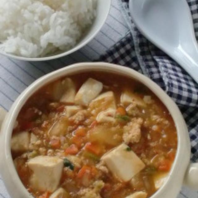 味噌味麻婆豆腐♪