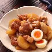 《プレゼントキャンペーン&動画あり》鶏大根と卵のとろ照り煮【#作り置き #冷凍保存 #お弁当 #ほったらかし #味しみ #主菜 #博多じょうもんさん #JA福岡市 #PR】