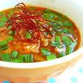燃えろ!キムチの赤いスープ  by みぃさん