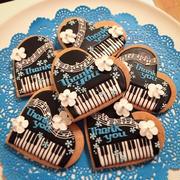 Thank you★ピアノのアイシングクッキー