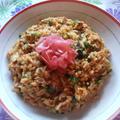 タイ風 ツナとオクラの炒飯