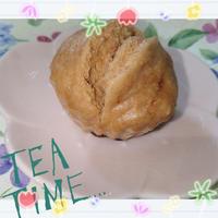 お豆腐で☆もちもちフワフワシナモンレーズン蒸しパン