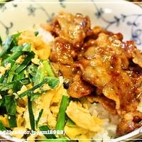 [スパイス大使] スタミナ二色丼 レシピ