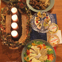 カマンベールチーズが主役のクリスマスパーティー♪