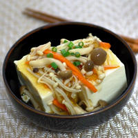 レンジで簡単!ほかほかあんかけ豆腐