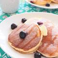 しっとり&ふんわり♪ ホットケーキミックスで作るヨーグルトパンケーキ。