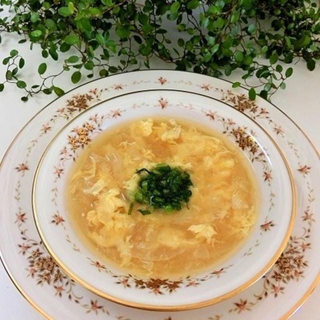 レシピ*かぶの洋風かき玉スープ、かぶと海老のバター醤油炒め