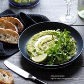 枝豆とグリーンピースのフムス