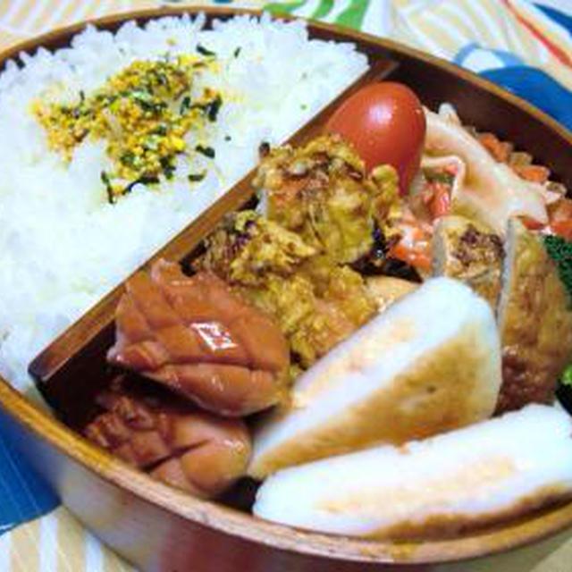 チキン弁当&ポテトスープ