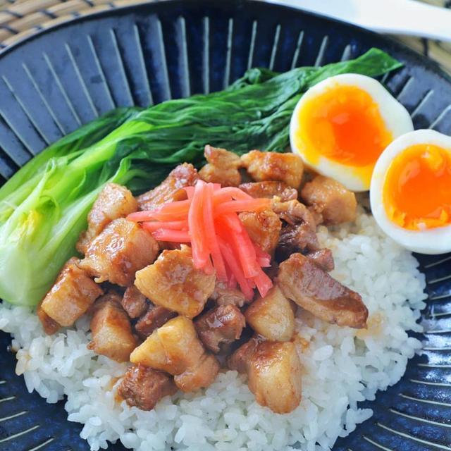 【レシピあり】魯肉飯風ウルトラ豚丼