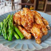 【レシピ】下味なしで簡単!子ども喜ぶ手羽中甘辛チキン!