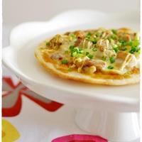 鶏ネギピッツァ ハチミツみそマヨ味