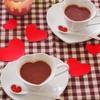ストロベリーミントの♪ ホットチョコレート(ショコラショー)