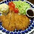 バッター液でジャンボ豚カツ^0^ by watakoさん