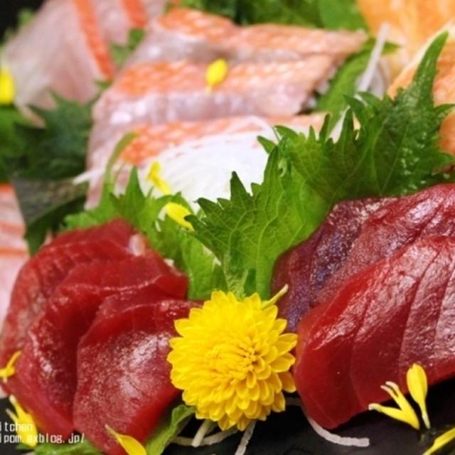 ほろ酔い薬膳♪15分で絶品!塩締めまぐろと塩まぐろ寿司。