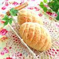 バターロールでメロンパン♪