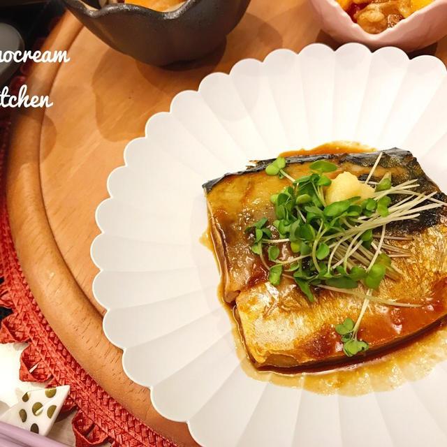 フライパンで10分☆つやつやサバの味噌煮