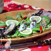 タイム香る秋刀魚のマリネ