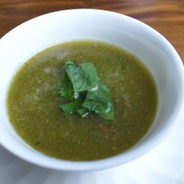 きゅうりの冷たいスープ【低脂肪】