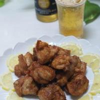 「鶏のから揚げ ゆず胡椒風味」「菜の花とサーモンのちらし寿司」