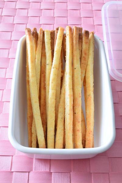 お米のプリッツ(卵・バター不使用) 作り置きレシピ