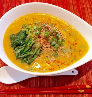 スープが美味しい担々麺