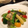 カラフル野菜とさわらのソテー by shoko♪さん