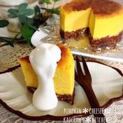 [LIMIA]なめらか♡かぼちゃのチーズケーキ。