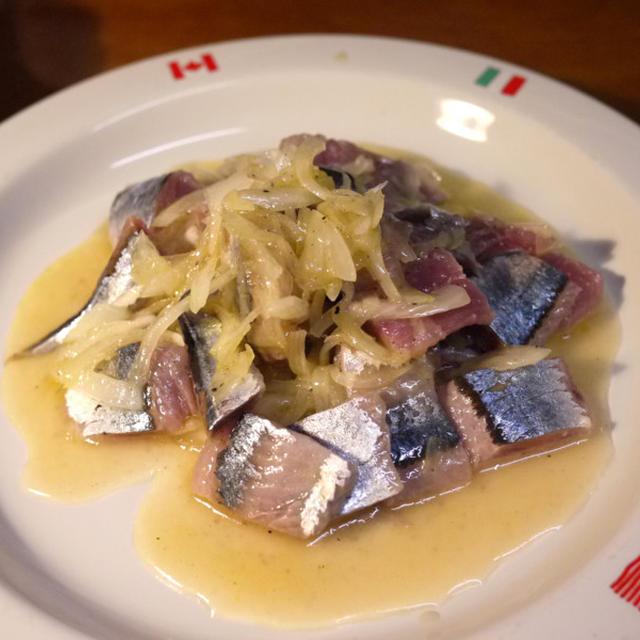[副菜] 秋刀魚のカルパッチョ