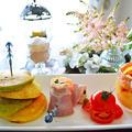 お野菜生地のパンケーキで朝食を ~オマケはアイスすぎるハッピーバースデイ~