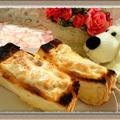 『BBQ卵&ツナオニオンの2種のホットサンドイッチ』香ばしチーズが癖になる!?