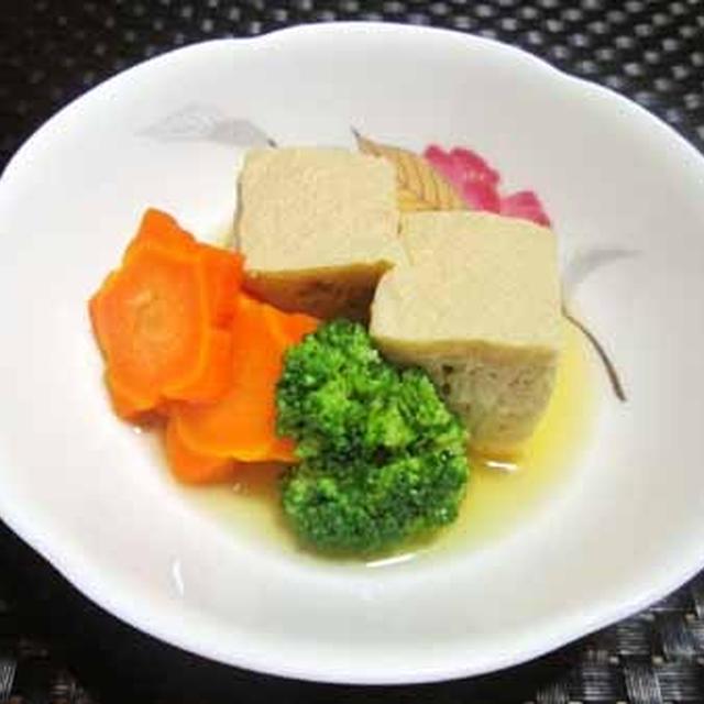 豆腐が中途半端に残れば・・・自家製高野豆腐に^^