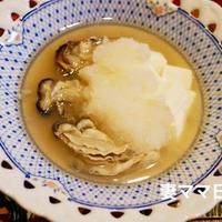 牡蠣のかぶら蒸し♪Steamed Oyster with Grated Tarnip