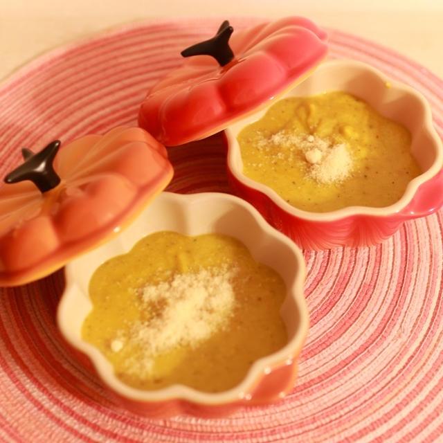 美腸スープ(かぼちゃ)作ったよ~可愛いニットのワンピ