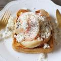 【簡単!スイーツ】フレッシュな桃とアールグレイ香るフレンチトースト