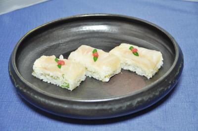 ヒラメの押し寿司 2012 & 船長の小部屋
