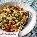 トマトとバジルのパスタサラダのレシピ