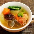 ベーコンと野菜のおかずスープ
