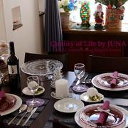 2011クリスマスのテーブルコーデ