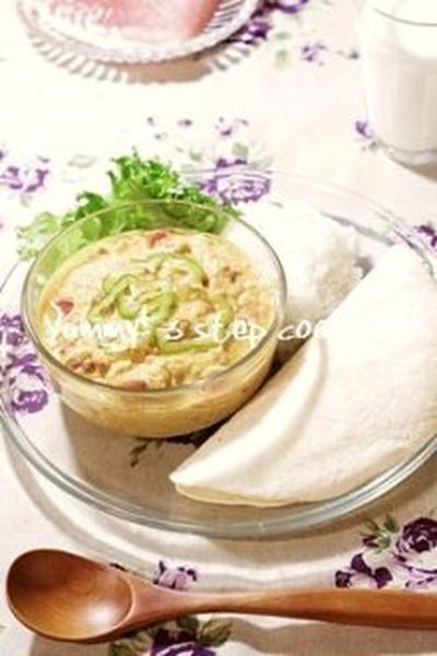 レンジも不要!混ぜるだけなのに驚きの美味しさ、冷たいツナキーマカレー。
