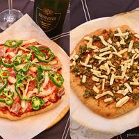 3月23日 火曜日 全粒粉生地で2種のピザ