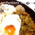白菜と豆腐のドライカレー♪