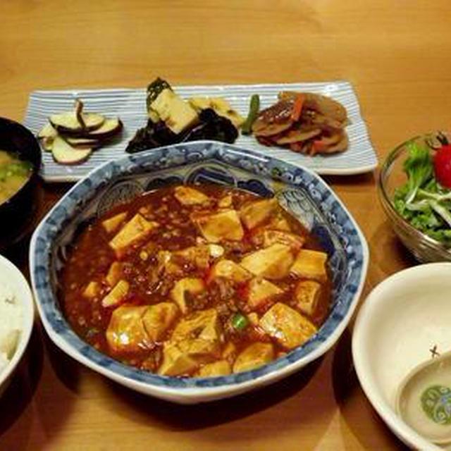 トマトソースがINな家庭的麻婆豆腐