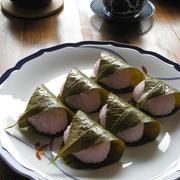おうちで手作り♪ 桜餅